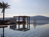 The Lido Mar Swimming Pool at the Newly Developed Marina in Porto Montenegro  Montenegro  Europe