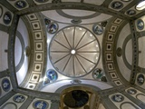 Cupola  Pazzi Chapel  Designed by Brunelleschi  Santa Croce Church  Florence  UNESCO World Heritage