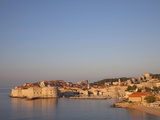View of Old Town in the Early Evening  UNESCO World Heritage Site  Dubrovnik  Croatia  Europe