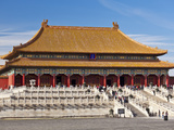 Hall of Supreme Harmony  Outer Court  Forbidden City  Beijing  China  Asia