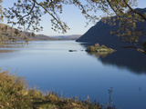 Lake Ullswater  Lake District National Park  Cumbria  England  United Kingdom  Europe