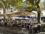 Restaurant in Placa De La Constitucio  Soller  Mallorca (Majorca)  Balearic Islands  Spain  Mediter
