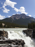 Athabasca Falls  Jasper National Park  UNESCO World Heritage Site  British Columbia  Rocky Mountain