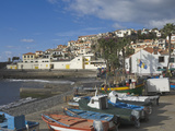 The Fishing Village of Camara De Lobos  a Favourite of Sir Winston Churchill  Madeira  Portugal  At