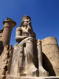 Luxor Temple  Luxor  Thebes  UNESCO World Heritage Site  Egypt  North Africa  Africa