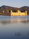 The Jai Mahal (Lake Palace)  Jaipur  Rajasthan  India  Asia
