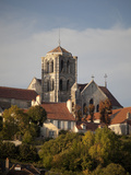 Vezelay Abbey  UNESCO World Heritage Site  Vezelay  Burgundy  France  Europe