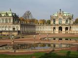 Zwinger Palace  Dresden  Saxony  Germany  Europe