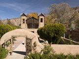 El Santuario De Chimayo  Built in 1816  Chimayo  New Mexico  United States of America  North Americ
