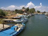 Harbour of Potamos Near Agia Napa  Cyprus  Europe