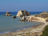 Petra Tou Romiou  Aphrodite's Rock  UNESCO World Heritage Site  Near Paphos  Cyprus  Mediterranean