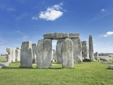 Stonehenge  UNESCO World Heritage Site  Salisbury Plain  Wiltshire  England  United Kingdom  Europe