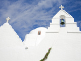 Paraportiani Church in Mykonos Town  Island of Mykonos  Cyclades  Greek Islands  Greece  Europe