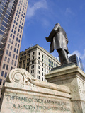 William Mckinley Monument Outside the Ohio Statehouse  Columbus  Ohio  United States of America  No