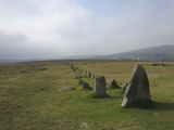 The Merrivale Stone Rows  Dartmoor National Park  Devon  England  United Kingdom  Europe