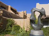 Migration Sculptureby Allan Houser Outside the Museum of Art  Santa Fe  New Mexico  United States o