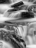 Falls on Logan Creek  Glacier National Park  Montana  United States of America  North America