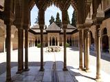 Alhambra  UNESCO World Heritage Site  Granada  Andalusia  Spain  Europe