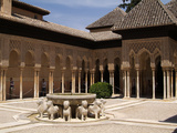 Alhambra  UNESCO World Heritage Site  Granada  Andalusia  Spain  Europe