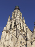 Spire of the Late Gothic Grote Kerk (Onze Lieve Vrouwe Kerk) (Church of Our Lady) in Breda  Noord-B