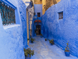 Chefchaouen (Chaouen)  Tangeri-Tetouan Region  Rif Mountains  Morocco  North Africa  Africa