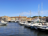 Boats in Vieux Port Harbour  St Tropez  Var  Provence  Cote D'Azur  France  Mediterranean  Europe
