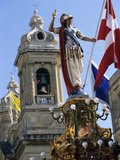 Church of Our Lady of Victories During Celebrations for Victory Day on 8th September  Senglea  Malt