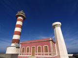 Faro De Toston Near El Costillo  Fuerteventura  Canary Islands  Spain  Europe