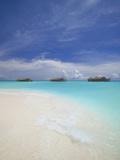 Water Villas in Lagoon  Maldives  Indian Ocean  Asia