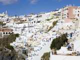 Town of Fira  Santorini Island  Cyclades  Greek Islands  Greece  Europe