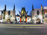 Grauman's Chinese Theatre  Hollywood Boulevard  Los Angeles  California  United States of America