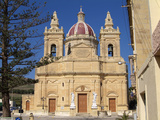 Church at Gharb  Gozo  Malta  Mediterranean  Europe