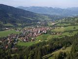 Hindelang  Oberstdorf  Allgau  Bavaria  Germany  Europe