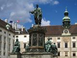 Hofburg  UNESCO World Heritage Site  Vienna  Austria  Europe