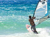 Big Jump Windsurfing in High Levante Winds in the Strait of Gibraltar  Valdevaqueros  Tarifa  Andal