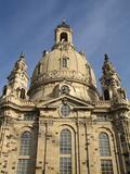 Frauenkirche  Dresden  Saxony  Germany  Europe