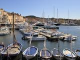 Vieux Port Harbour  St Tropez  Var  Provence  Cote D'Azur  France  Mediterranean  Europe