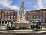 Fontaine Du Soleil (Fountain of the Sun)  Place Massena  Nice  Alpes Maritimes  Provence  Cote D'Az