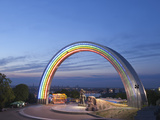 Rainbow Arch  Friendship of Nations Monument  Kiev  Ukraine  Europe