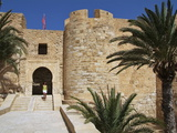 Castle Bordj El Kebir  Houmt Souk  Island of Jerba  Tunisia  North Africa  Africa