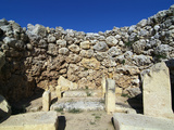 Ggantija Temple  UNESCO World Heritage Site  Xaghra  Gozo  Malta  Mediterranean  Europe