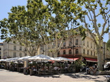 Alfresco Restaurants  Place De L'Horloge  Avignon  Provence  France  Europe