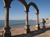 The Arches Sculpture on the Malecon  Puerto Vallarta  Jalisco  Mexico  North America