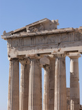 The Parthenon on the Acropolis  UNESCO World Heritage Site  Athens  Greece  Europe
