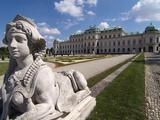 Belvedere Palace  UNESCO World Heritage Site  Vienna  Austria  Europe