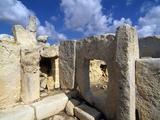 Hagar Quim Temple  UNESCO World Heritage Site  Malta  Mediterranean  Europe