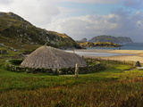 Bosta Iron Age House  Great Bernera Iron Age Village  Isle of Lewis  Western Isles  Scotland  Unite
