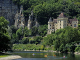 Chateau De La Malartrie  on the River Dordogne  La Roque-Gageac  Dordogne  France  Europe