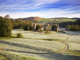 Frosty Morning at Bolton Priory Ruins (Bolton Abbey)  Yorkshire Dales National Park  Yorkshire  Eng