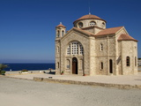 Church in Agios Georgios  Cyprus  Mediterranean  Europe